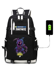 Image of Carnevale Fortnite Backpack Gioco Battle Royale School Bag Campi