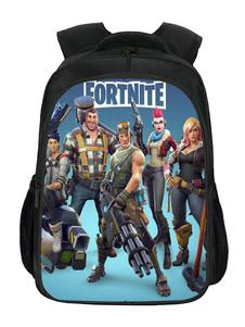 Image of Fortnite Game Backpack For School Girls Boys Bookbag Outdoor Day