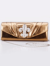 27*10cm Eye-Catching PU Special Occasion Handbags For Bride