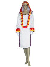 Final Fantasy XII Yuna Cosplay Costume Mage Blanc Halloween