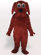 Brown Rooney Dog Adult Short Plsch-Maskottchen-Kostm Halloween Funny