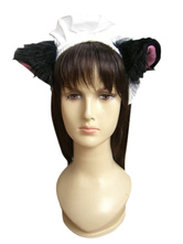White Black Maid Headwear