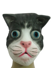 Latex Halloween Cat Mask