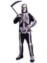 Skeleton Knight Halloween Costume
