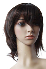 Women's Dark Brown Short Wig