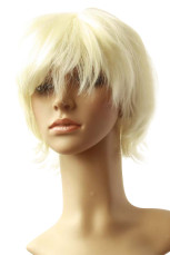 Women's Pale Gold Short Wig