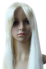 Women's 100cm Gold Long Straight Cosplay Wig