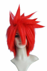 Women's 35cm Red Short Fashion Wig