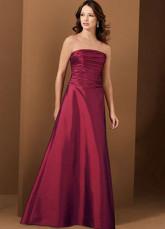 Тафта Вечернее платье Красное.
