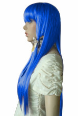 Women's 65cm Purple Long Fashion Wig