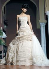 ...бальное платье Straples Бисероплетение Вышивка тафта Свадебное платье.