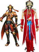 Dynasty Warriors 4 Lu Xun Cosplay Costume
