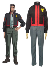 Macross Frontier SMS Uniform Cosplay Costume