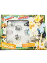 Kateky Hitman Reborn! Cosplay Ring Set
