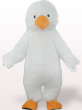 Cute Eagle Plush Adult Mascot Costume