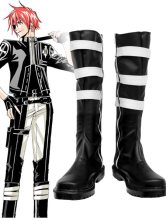 D.Gray-man Lavi III Imitated Leather Cosplay Shoes