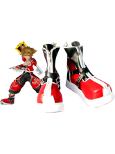 Stylish Kingdom Hearts II Sora Imitated Leather Foam Cosplay Shoes