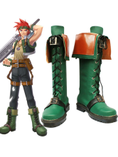 The Legend of Heroes VI: Sora no Kiseki Agathe Imitated Leather Rubber Cosplay Shoes