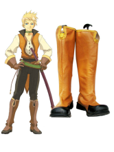 Tales of the Abyss Guy Cecil Imitated Leather Cosplay Boots