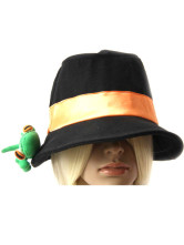 Black Hitman Reborn Cosplay Velvet Cloth Hat