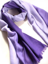Deep Purple Classic Wool Neck Scarf