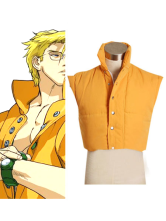 Street Fighter Charlie's Padded Vest Cosplay Costume