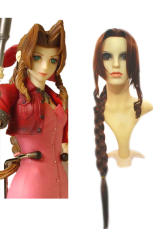 Final Fantasy Aeris Gainsborough 100cm Cosplay Wig