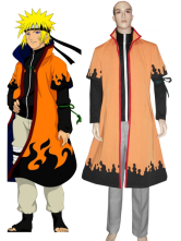 Naruto Uzumaki 6th Hokage Cosplay Costume