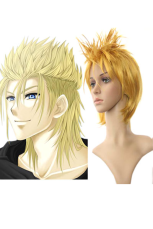 40cm Golden Fashion Kingdom Hearts Japan Imported Nylon Cosplay Wig