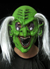 Hair Witch Scary Halloween Mask