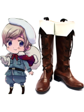 Axis Powers Hetalia Finland Imitated Leather Cosplay Shoes