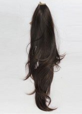 Fashion Brown Black 50cm Kanekalon Womens Hair Extensions