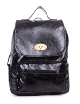 Attractive PU 31*10*38cm Womens Backpacks
