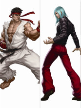 150*50cm Street Fighter4 Polyester Anime Pillow Case