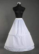 White 90cm Lining Bridal Wedding Petticoat