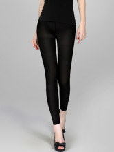 Black Spandex Lycra 480 dni Womens collants collant