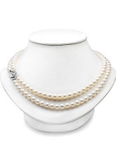 Beautiful White Freshwater Pearl S925 Necklace