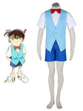 Detective Conan-Conan 2th Cotton Polyester Cosplay Costume
