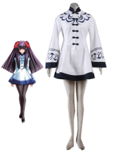 Fantastic Touka Gettan Prunus Persica College Winter Girls Uniform Cosplay Costume