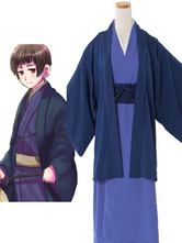 Axis Powers Hetalia Honda Kiku Cosplay Costume