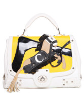 30*18*15cm Lovely Yellow PU Women's Satchel