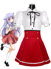 Mayoi Neko Overrun Uniform Cloth Cosplay Costume