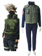 Naruto - Hidden Leaf Village Of Konoha Jounins Uniform