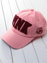 Modern Pink Adjustable Canvas Baseball Mens Hat