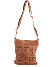 Brown Cowhide Polyester Inner 26*6*28cm Over The Shoulder Bag