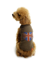 Lovely Olive Green 100% Fleece Dog Vest
