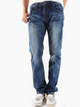 Cool Blue 98% Bamboo Cotton 2% Bamboo Fiber Denim Mens Jeans