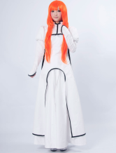 Bleach Inoue Orihime Cotton Polyester Cosplay Costume