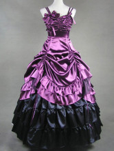 Classic Lolita Rococo Renaissance Aristocrat Purple Long Dress