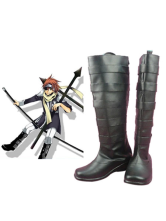D.Gray-man Lavi II Imitated Leather Cosplay Shoes
